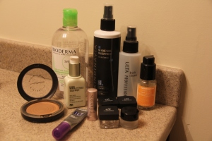 Face product empties..