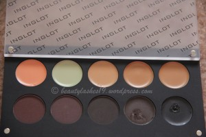 Inglot Brow and Concealer palette..
