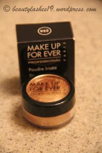 Review of MUFE Star Powder # 922 Copper