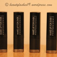 MAKE UP FOR EVER (MUFE) Rouge Artist Intense Lipsticks..
