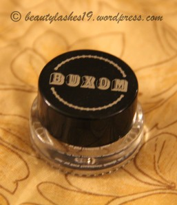 Buxom cream eyeshadow..