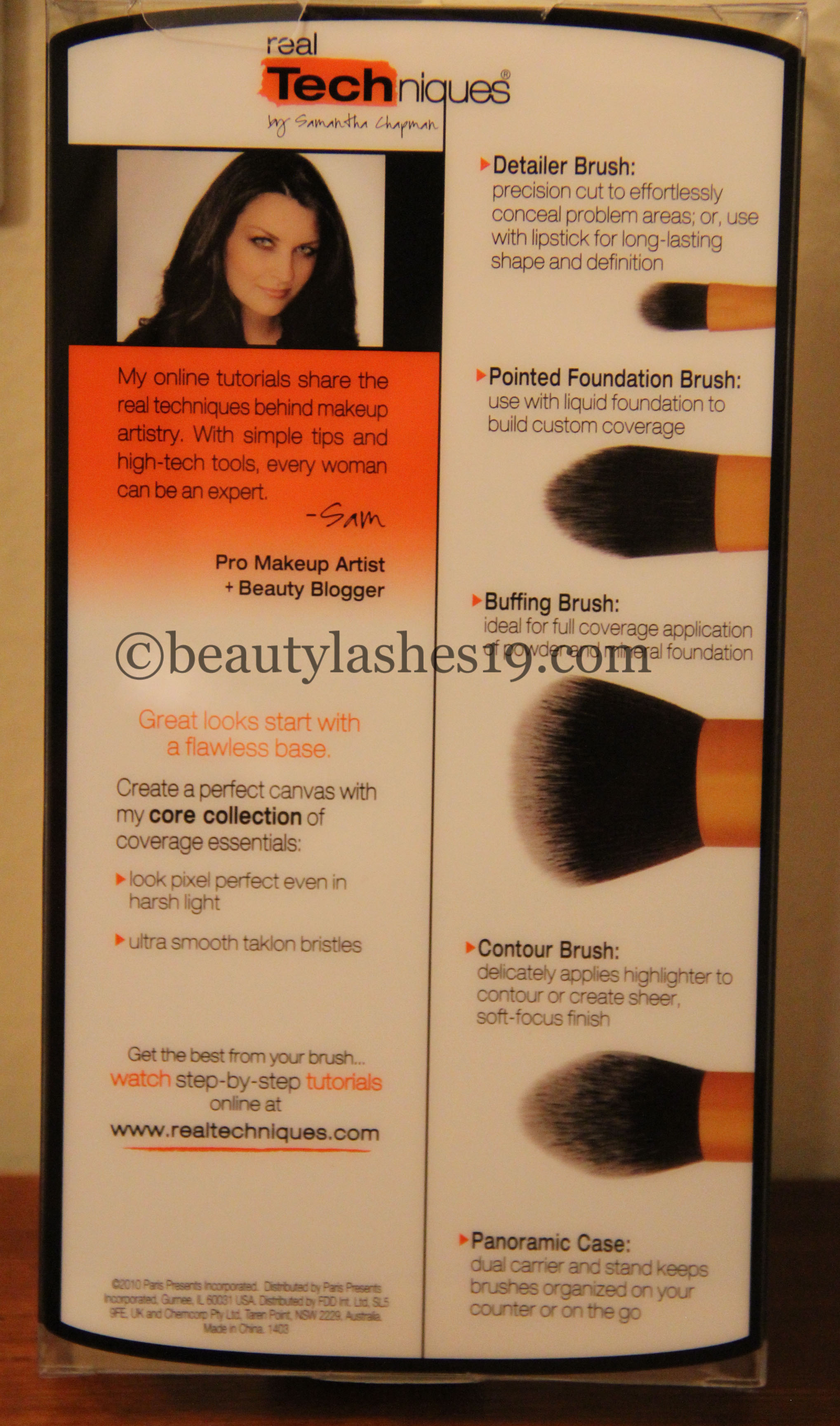 Real Techniques Core collection brush set   - BeautyLashes19