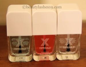 Sephora Formula X nail paints..