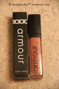 Armour lip gloss in 'Diana'..